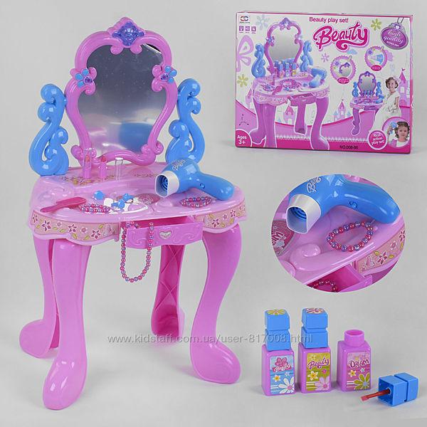 Трюмо 008-86 для девочки детское с  феном аксессуарами