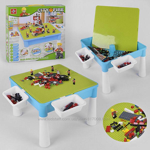 Игровой столик 370 с конструктором детский