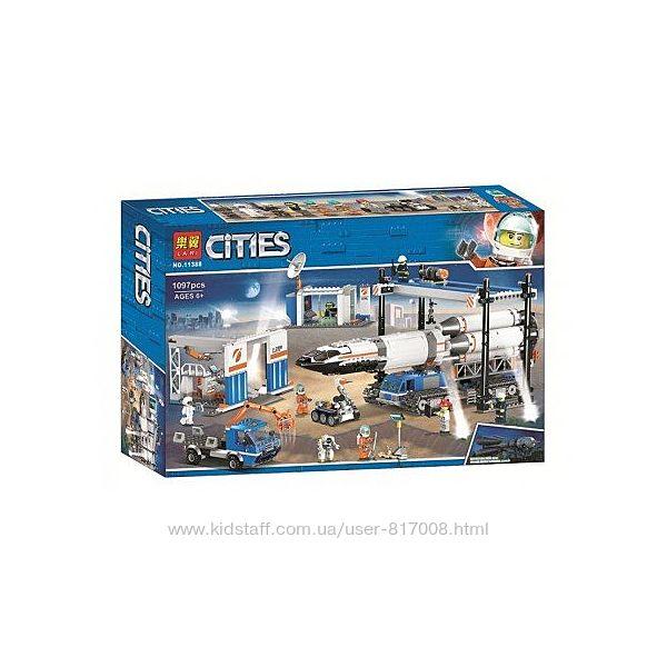 Бела Сити 11388 космическая ракета конструктор большой набор аналог лего
