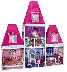 Дом кукольный 6990 замок принцессы с мебелью