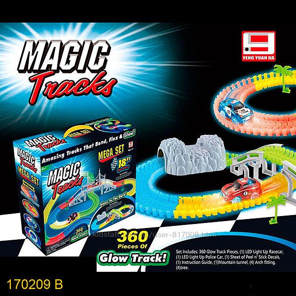 Magic Tracks 170209 гоночный трек светиться в темноте Мэджик