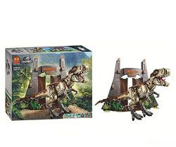 Bela Lari 11338 конструктор большой набор с динозавром Тирекс