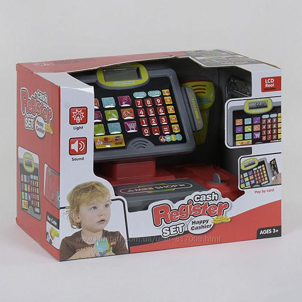 Кассовый аппарат 35558 В игрушка детская со сканером