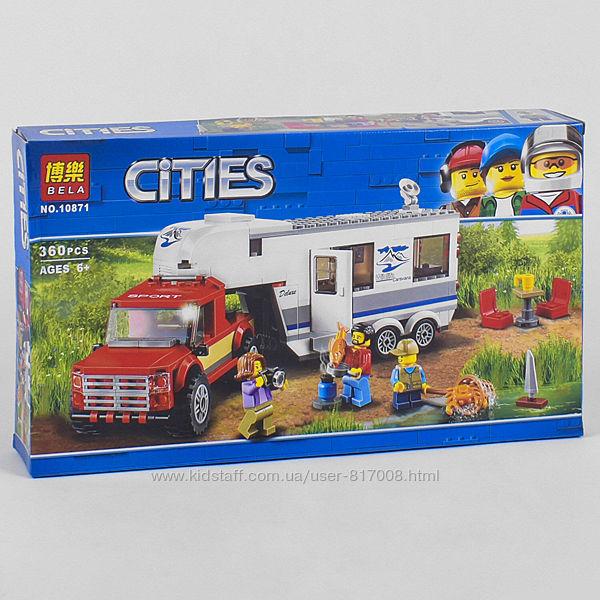 Bela Cities 10871 конструктор Дом на колесах аналог лего