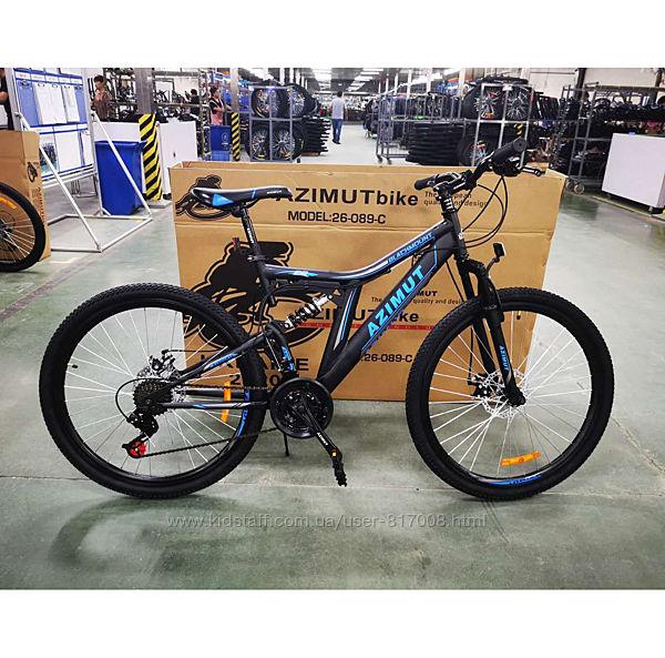 Азимут Блекмаунт 24 FRD велосипед горный azimut blackmount