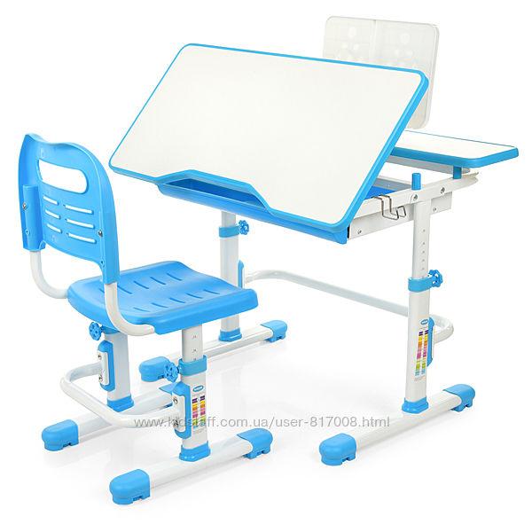 Парта и стул Бемби 4253 регулируемая для школьника
