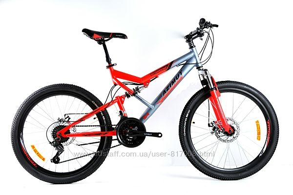 Azumut Scorpion 24 дюйма Skilful велосипед спортивный для подростков