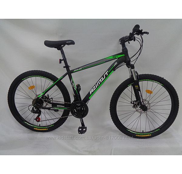 Azimut Aqua Шимано 26 дюймов велосипед двухколесный горный одноподвес