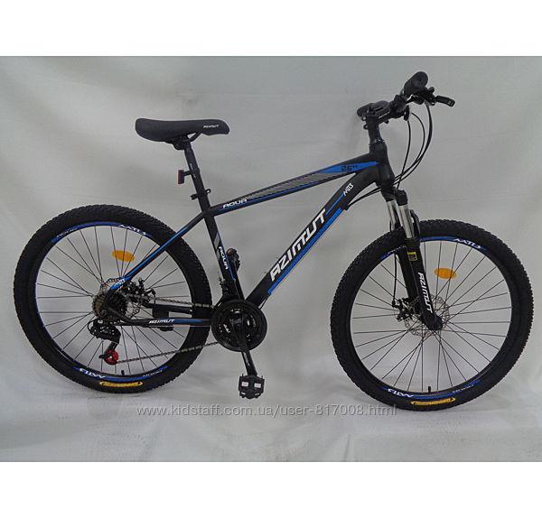 Азимут Аква 26 Skilful велосипед двухколесный спортивный
