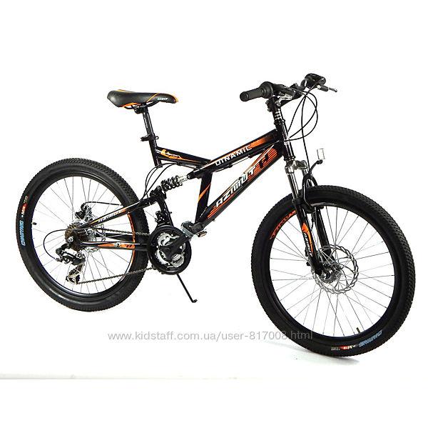 Азимут Динамик frd 26 Skilful велосипед спортивный двухподвес