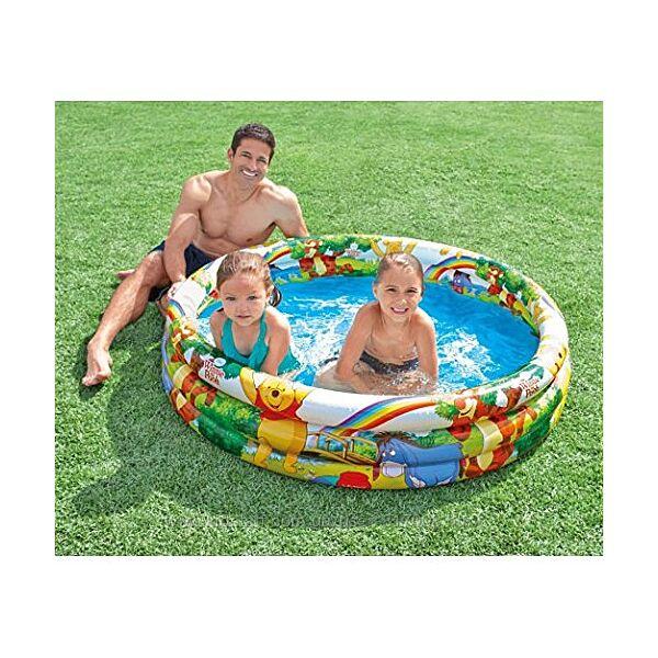 Бассейн надувной детский Intex 58915 Винни Пух 147 х 33 см
