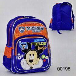Рюкзак школьный с ортопедической спинкой Микки Маус