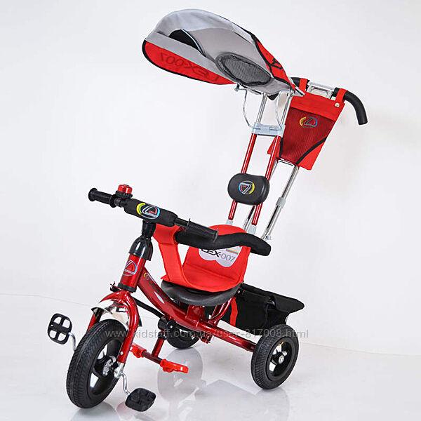 Велосипед трехколёсный Lex-007 10/8 AIR wheels облегчённый