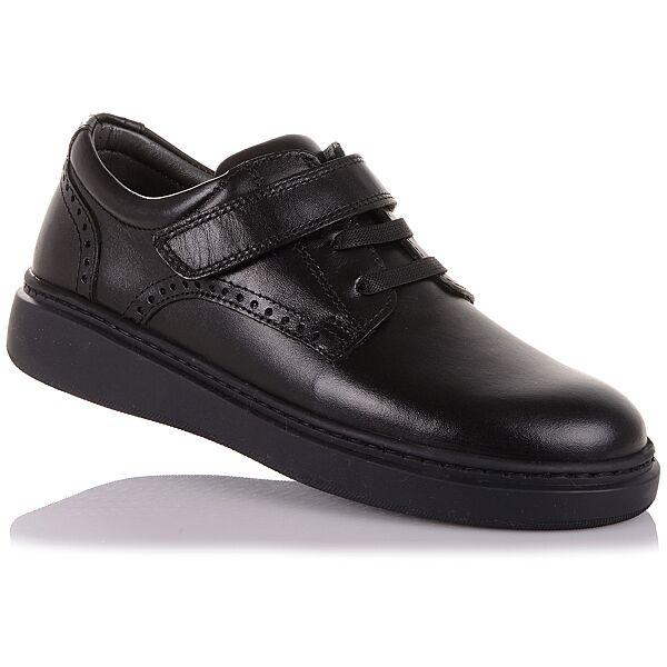 Школьные туфли из натуральной кожи  унисекс 31-36 р-р 1.5.135