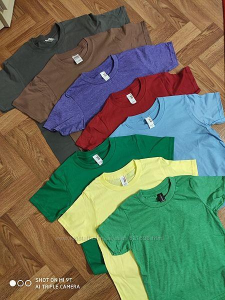 Классные детские футболки 110-158