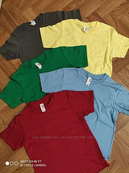 Классные детские футболки 112-134