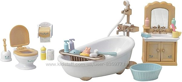 Calico critters ванная комната Epoch Sylvanian Families