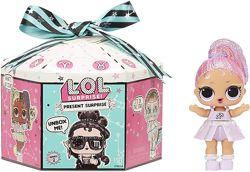 Новинка Кукла Лол сюрприз Подарок серия 2 MGA LOL Surprise Present Series 2