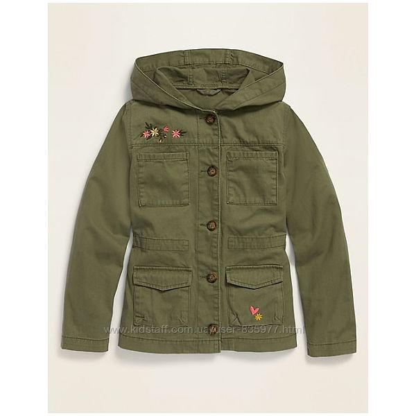Хлопковая куртка, пиджак цвета хаки р. С, М, Л, ХЛ Олд Неви Old Navy