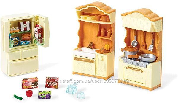 Calico Critters Kitchen Play Set Кухня Сильвиан фемили