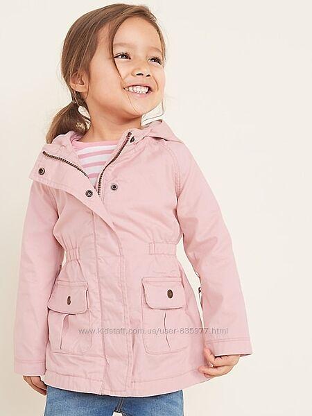 Хлопковая куртка, пиджак на подкладке розовый 5т ветровка Олд Неви Old Navy