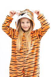 Кигуруми детский и подростковый Тигр, рост 98-164