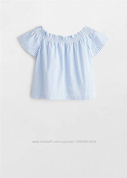 Блузка MANGO от 6 до 9 лет