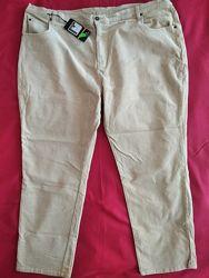 Джинсы брюки вельветовые  bonmarche 24 размер новые