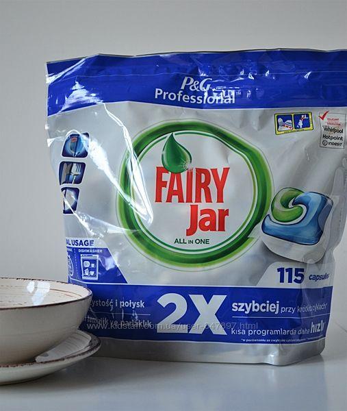 Fairy Jar all-in-1 таблетки-капсули для посудомийних машин 115 шт