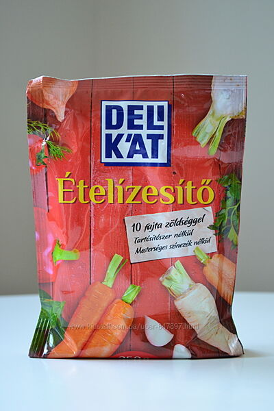 Delikat Etelizesito - угорська приправа - 10 овочів - 250 грам