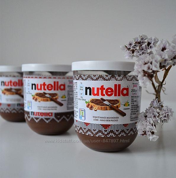 Nutella - горіхова паста з какао - 200 грам - стаканчик зі скла