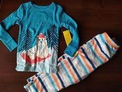 Новая пижама домашний костюм cat&jack по типу carters 3t