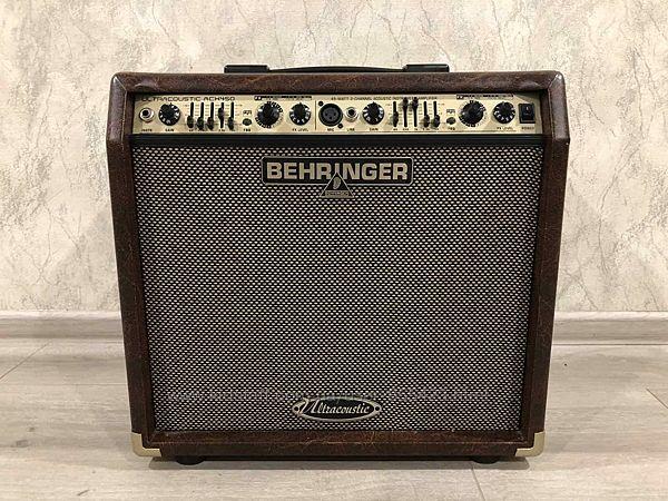 4444 Новый Комбоусилитель Behringer ACX450 для Электроакустической Гитары