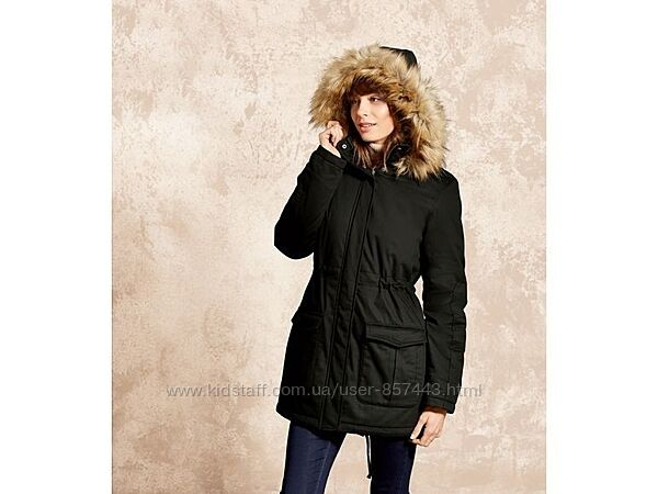 Парка, куртка теплая женская esmara германия, размер евро 38