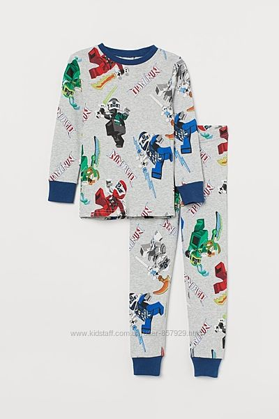 Піжама 2-4р ніндзяго H&M