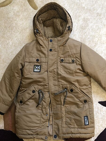 куртка, комбинезон, Ostin на рост 122-128см, мальчик