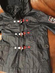 Фирменная легкая куртка Chicco на мальчика в идеальном состоянии