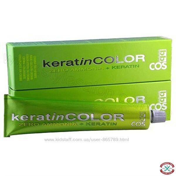 Супер предложение Безаммиачная краска для волос с кератином Keratin Color
