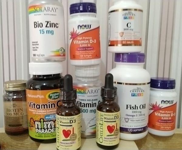 Витаміни з iherb