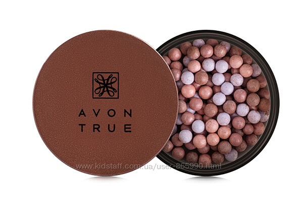 Румяна-шарики Avon True Blush Pearls Розовый румянец