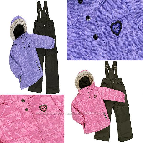 Детские зимние комбинезоны термо для девочек бренд ПЕЛЮШ Канада все размеры