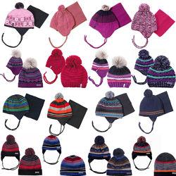 Детские зимние шапки на флисе для мальчиков девочек бренд ПЕЛЮШ НАНО Канада