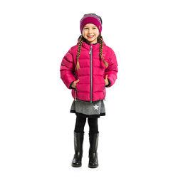 Стеганная детская весенняя куртка для девочки бренд НАНО деми демисезонная