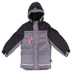 Теплая детская зимняя куртка для мальчика бренд НАНО NANO Канада р. 92-146
