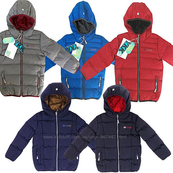 Детская демисезонная куртка для мальчика бренд NANO НАНО Канада рост 86-146