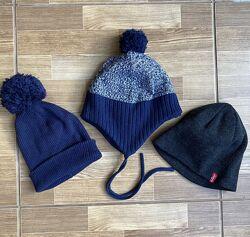 Зимняя, демисезонные шапки H&M, Levis, LC Waikiki