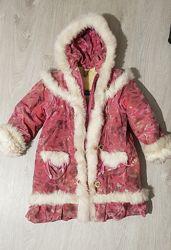 Куртка зимняя на 9-12 лет