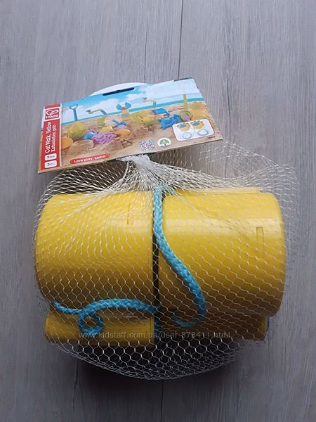 Іграшка для піску Hape Котячі лапки Жовті E4013