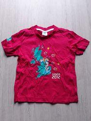 Новая футболка London 2012 оригинал из Англии р. 4-5 лет