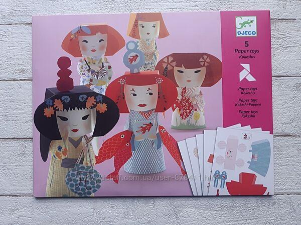 Художественный комплект оригами Японские кокетки Djeco DJ09672